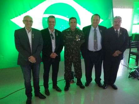 Cleber Rubio, Rubens Jr, TC Luiz Cunha, Lobão, José Roberto