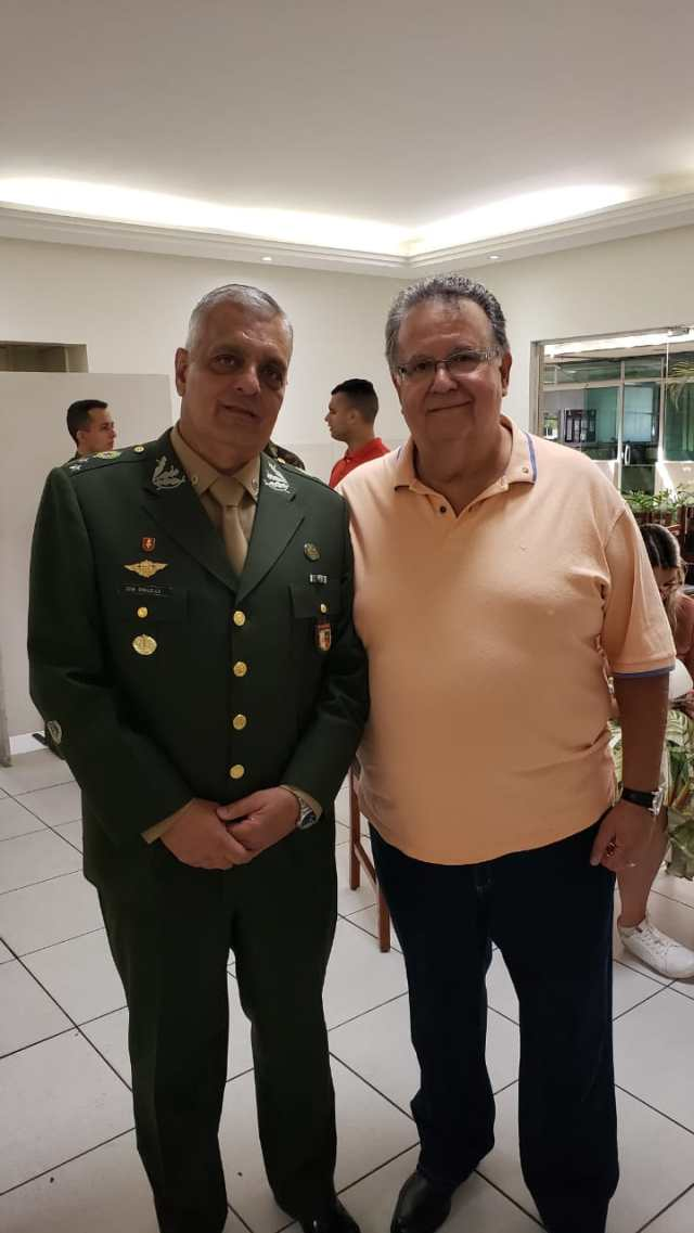 Lobão e General Chalela